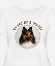 Owned By A Sheltie 999 Plus Size T-Shirt