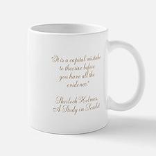 Sherlock Holmes Quote Mug Mugs