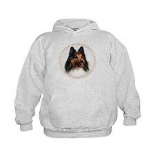 Pretty Sheltie Dog Hoodie