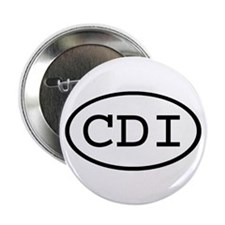 "CDI Oval 2.25"" Button (10 pack)"