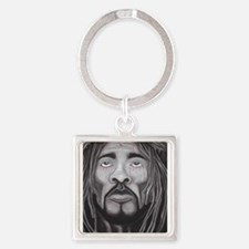 Black Jesus Keychains