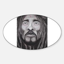 Black Jesus Decal