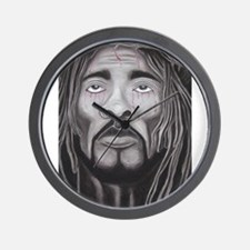 Black Jesus Wall Clock