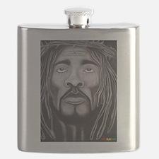 Black Jesus Flask