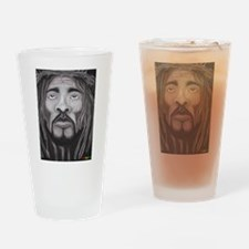 Black Jesus Drinking Glass