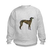 Greyhound (brindle) Sweatshirt