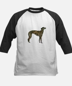 Greyhound (brindle) Tee