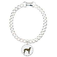 Greyhound (brindle) Bracelet