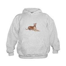 Greyhound (liedown) Hoodie