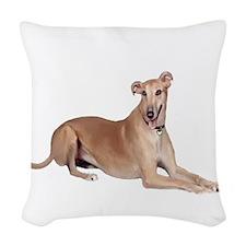 Greyhound (liedown) Woven Throw Pillow