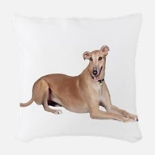 Greyhound (liedown) Woven Throw Pillow