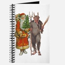 Krampus And Santa Claus Are Here Journal