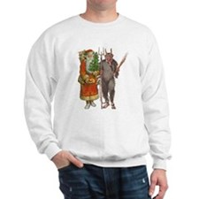 Krampus And Santa Claus Are Here Jumper