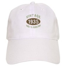 1935 Vintage Birth Year Baseball Cap