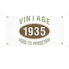 1935 Vintage Birth Year Banner