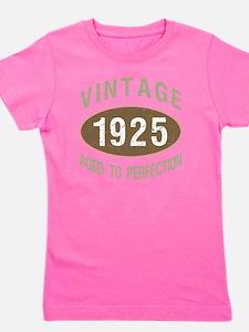 1925 Vintage Birth Year Girl's Tee