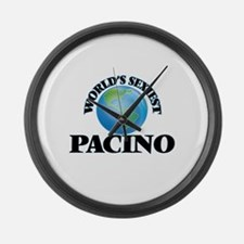 World's Sexiest Pacino Large Wall Clock