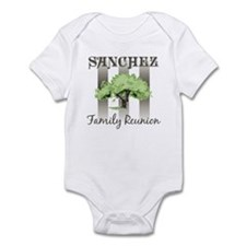 SANCHEZ family reunion (tree) Infant Bodysuit