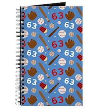 Baseball Number 63 Journal