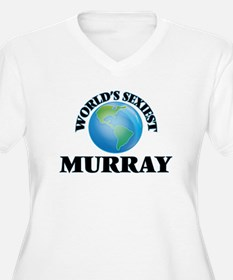 World's Sexiest Murray Plus Size T-Shirt