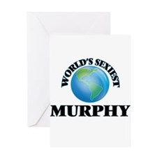 World's Sexiest Murphy Greeting Cards