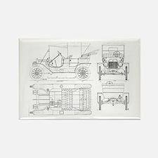 Model T Blueprints Magnets
