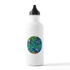 Van Gogh Garden Irises Water Bottle