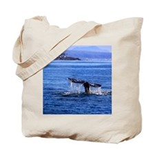 Gray Whale Point Loma Tote Bag