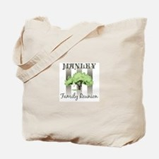 MANLEY family reunion (tree) Tote Bag