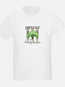 MANLEY family reunion (tree) T-Shirt