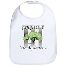 MANLEY family reunion (tree) Bib