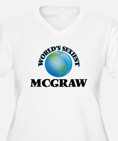 World's Sexiest Mcgraw Plus Size T-Shirt