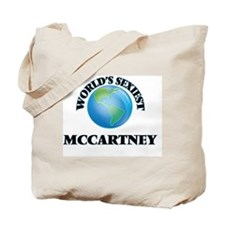 World's Sexiest Mccartney Tote Bag