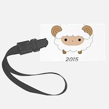 Chinese Zodiac Sheep 2015 Luggage Tag