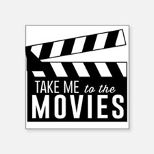 Take me to the movies Sticker