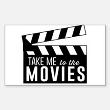Take me to the movies Decal