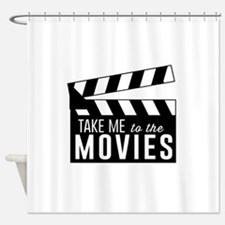Take me to the movies Shower Curtain