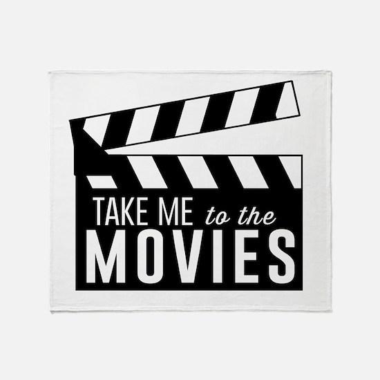 Take me to the movies Throw Blanket