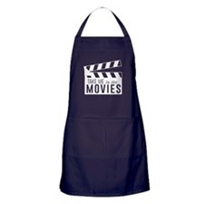 Take me to the movies Apron (dark)