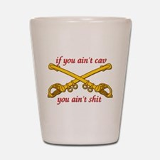 Cav Scout Shot Glass