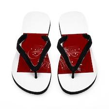happy valentines day Flip Flops