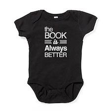 The book is always better Baby Bodysuit