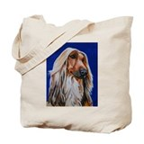 Afghan hound Bags & Totes