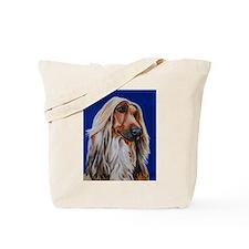 Unique Afghan hound Tote Bag