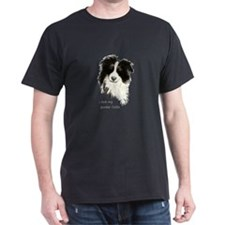 I love my Border Collie Pet Dog T-Shirt
