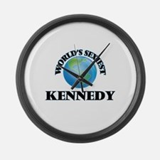 World's Sexiest Kennedy Large Wall Clock