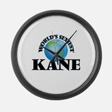 World's Sexiest Kane Large Wall Clock