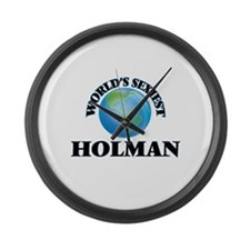 World's Sexiest Holman Large Wall Clock