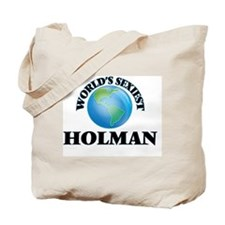 World's Sexiest Holman Tote Bag