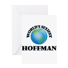 World's Sexiest Hoffman Greeting Cards